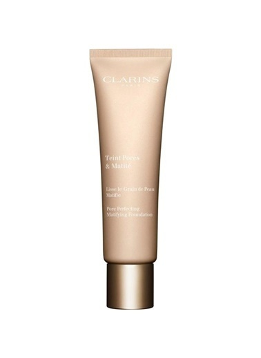 Clarins Clarins Fondöten - Pore Perfecting Matifying Foundation 04 Nude Amber 30 ml Renkli